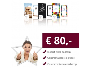 Eigen Keuze Kerstpakket 80 euro